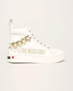 Trampki ażurowy z wkładkami Love Moschino
