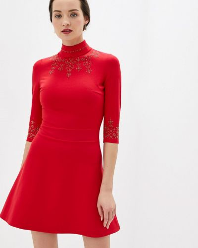 Платье - красное Gold Chic Chili