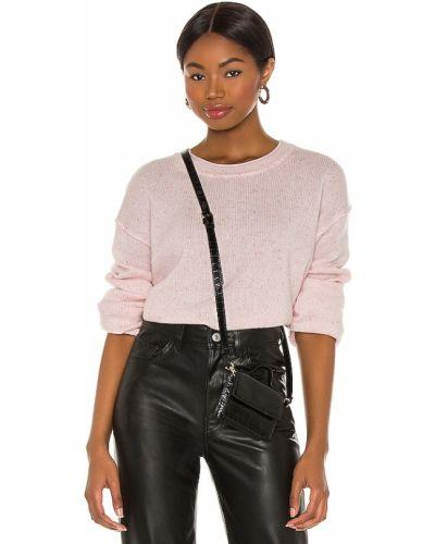 Klasyczny różowy z kaszmiru sweter Splendid