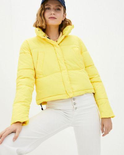 Желтая куртка осенняя Fresh Cotton