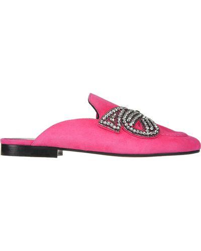 Мюли розовый замшевые Isabel Marant
