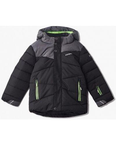 Черная куртка теплая Icepeak