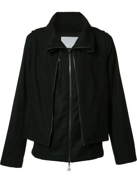 Нейлоновая черная куртка на молнии Private Stock