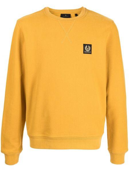Bluza dresowa - żółta Belstaff