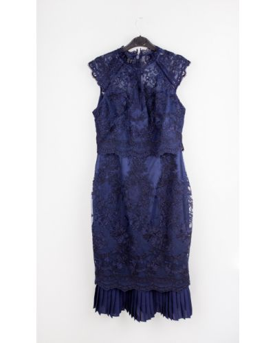 Трикотажное платье - синее Lipsy