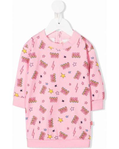 Różowa bluza z printem Billieblush
