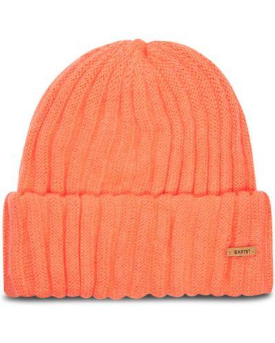 Pomarańczowa czapka beanie Barts