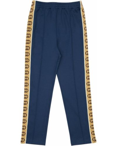 Bawełna bawełna spodnie na gumce elastyczny Gucci