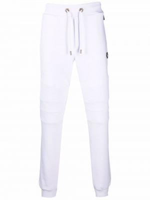Biały dres bawełniany Philipp Plein