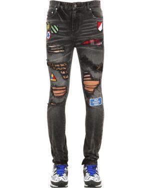 Czarne jeansy bawełniane Gmc - God's Masterful Children