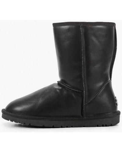 Черные сапоги из натуральной кожи Diora.rim