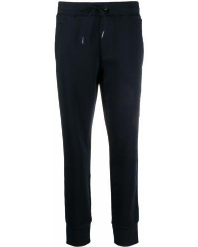 С кулиской синие спортивные брюки эластичные Armani Exchange