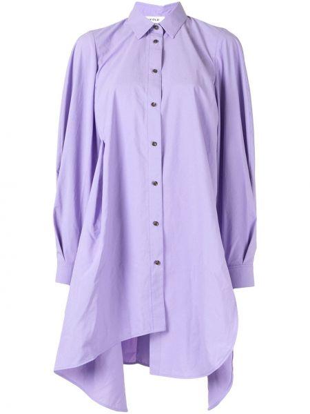 Koszula asymetryczna - fioletowa Enfold