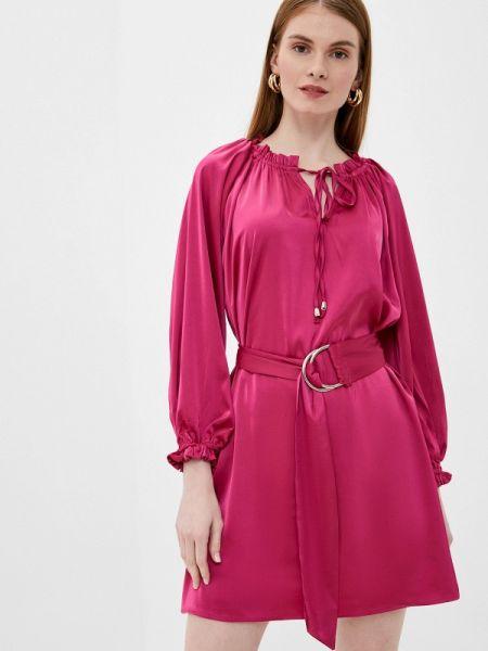 Платье розовое прямое Tantra