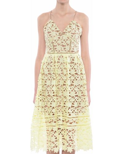Платье весеннее желтый Silvian Heach