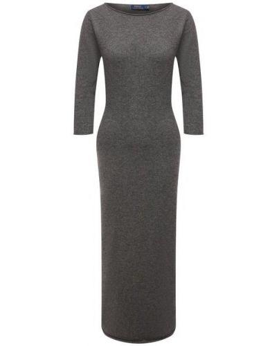 Кашемировое платье - серое Polo Ralph Lauren