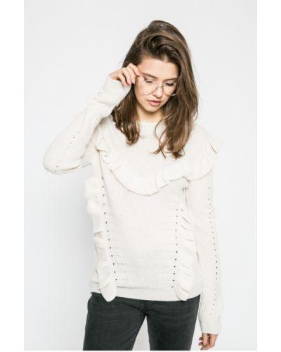 Вязаный свитер с рюшами Review