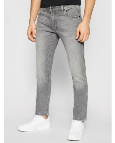 Szare mom jeans Wrangler