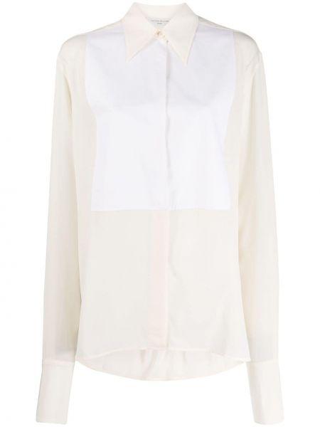 Хлопковая блузка Victoria Beckham