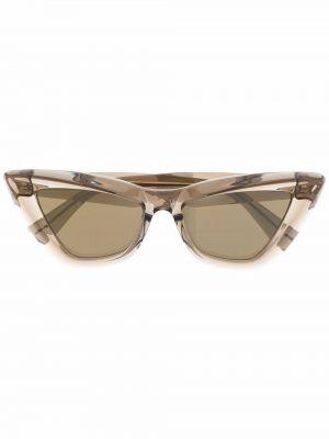 Солнцезащитные очки - коричневые Bottega Veneta