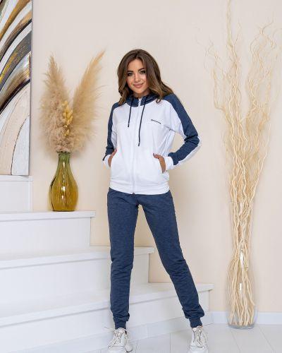 Белый спортивный спортивный костюм Demma