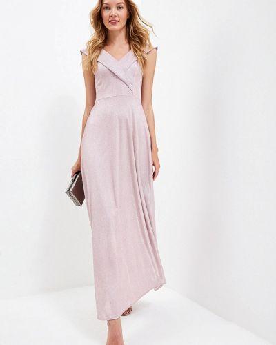 Вечернее платье весеннее розовое Trendyangel