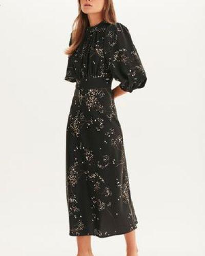Платье миди в цветочный принт Love Republic