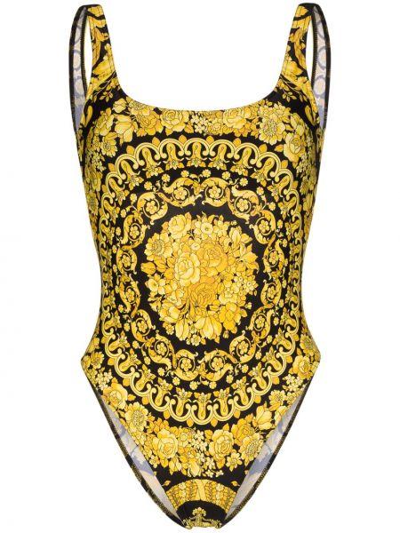 Купальник с вырезом Versace
