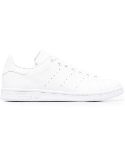 Белые кожаные кроссовки Adidas Kids