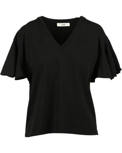 Czarny t-shirt Suoli