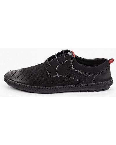 Черные ботинки из нубука Go.do.