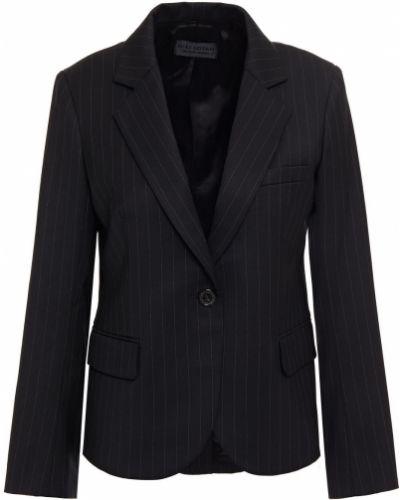 Шерстяной черный пиджак с карманами Nili Lotan
