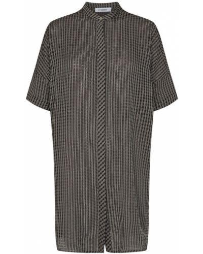 Czarna tunika krótki rękaw Co'couture