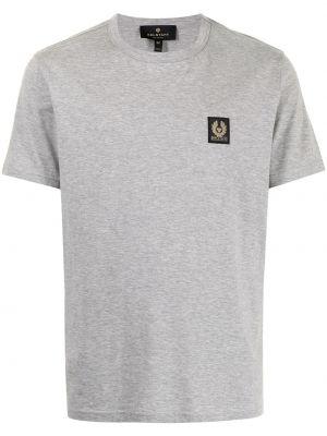 T-shirt bawełniany krótki rękaw Belstaff