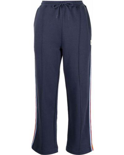 Спортивные брюки из полиэстера - синие être Cécile