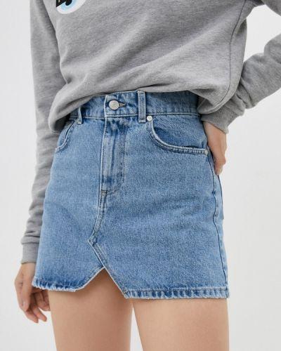 Джинсовая юбка - голубая Chiara Ferragni Collection