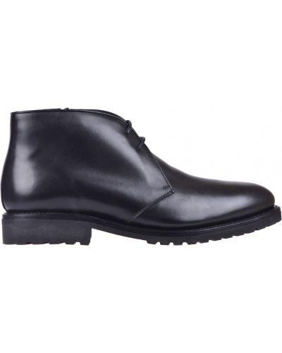 Кожаные ботинки осенние классические Pertini
