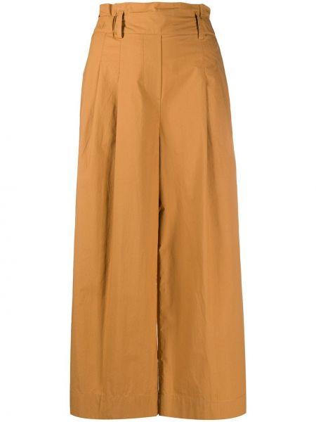 Свободные брюки с поясом с карманами Luisa Cerano
