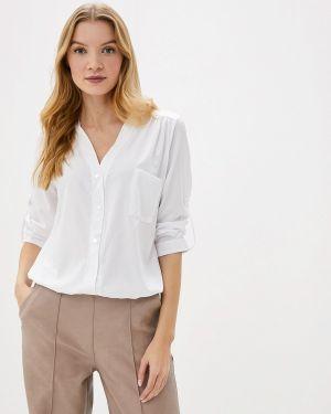 Блузка с длинным рукавом белая Gepur