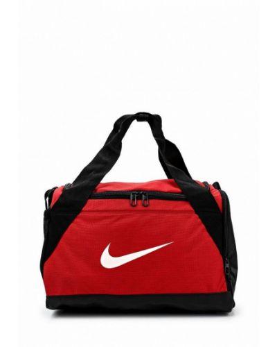 Красная спортивная сумка Nike