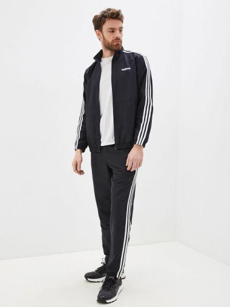 Черный костюм Adidas