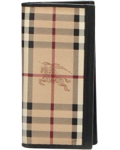 Brązowy portfel Burberry Vintage