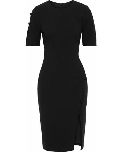 Черное платье из вискозы Black Halo