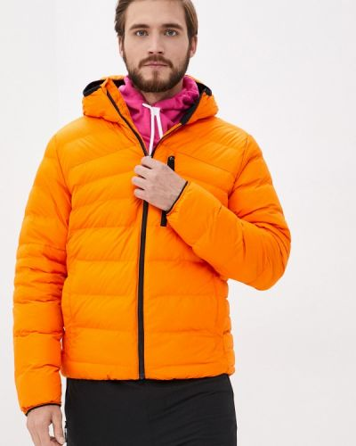 Оранжевая теплая куртка Reebok