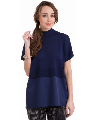 Пуловер синий Just Valeri