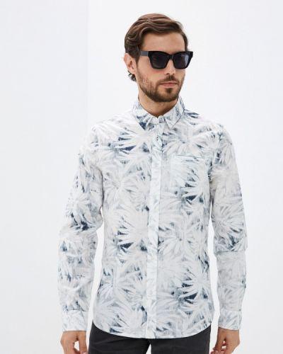 Белая рубашка с длинными рукавами Desigual