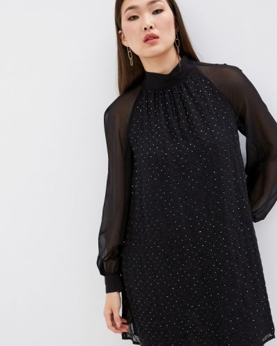 Черное вечернее платье French Connection