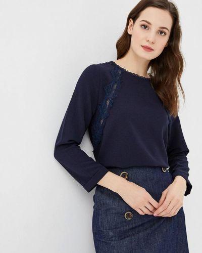 Синяя блузка с длинным рукавом Sweewe