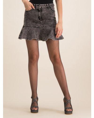 Spódnica jeansowa - czarna Michael Michael Kors