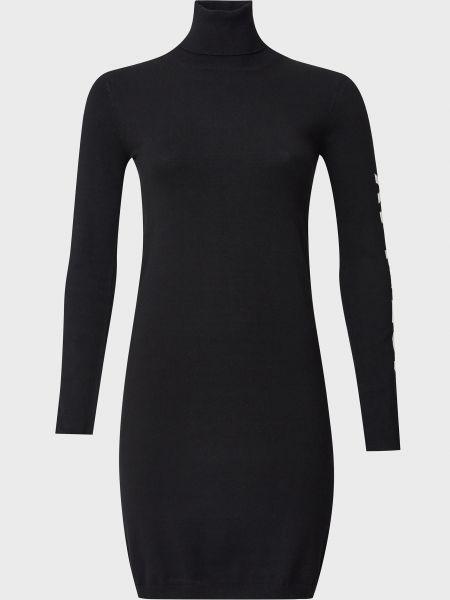 Платье из вискозы - черное Ice Play